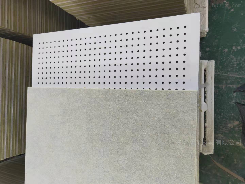 硅酸钙岩棉复合板穿孔后仍能保持很高的强度
