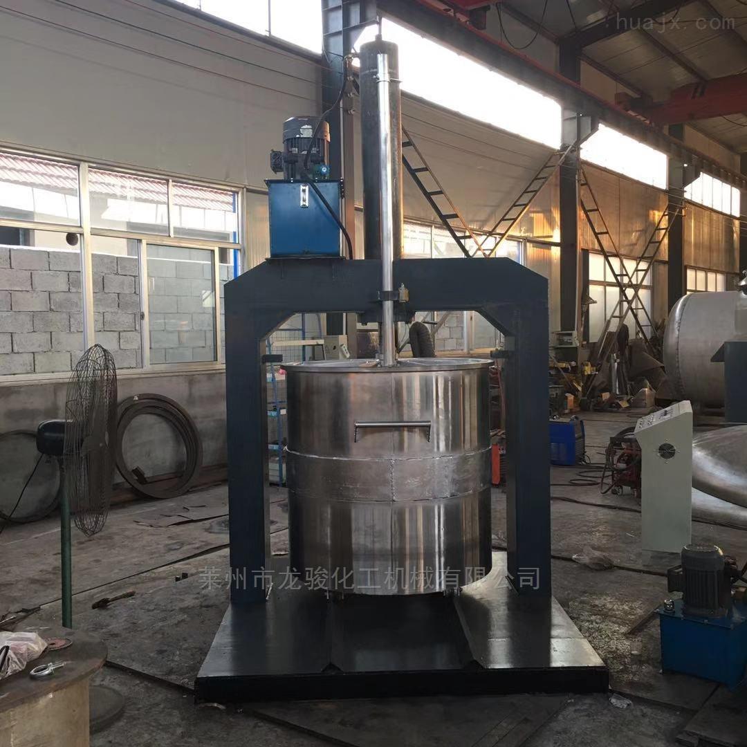 广东液压压料机化工搅拌混合配套必备