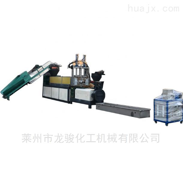 废旧编织袋造粒机,密炼单螺杆造粒(设备)